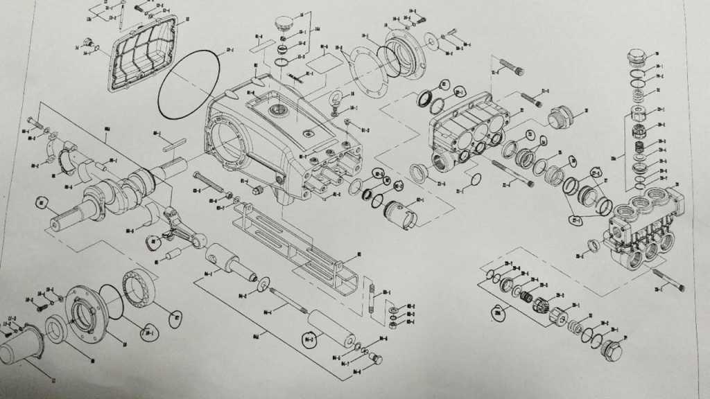 Схема насоса высокого давления- Pinfl 36