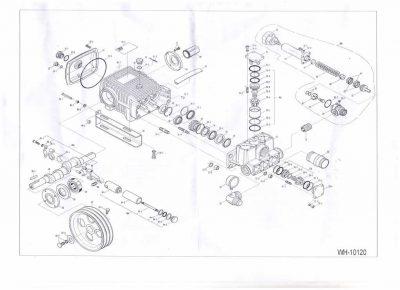 Схема насоса высокого давления- Wully 12-140